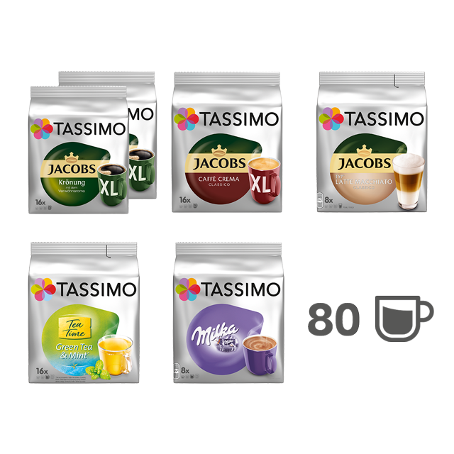 TASSIMO TASSIMO Starter Paket - 6 Packungen