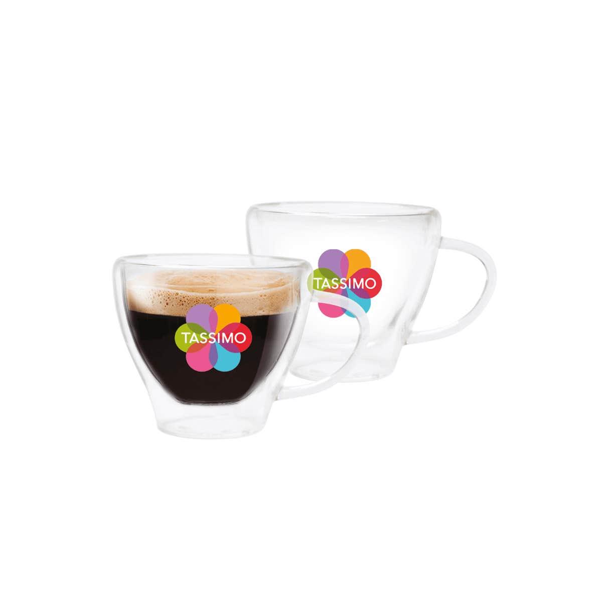 TASSIMO Espresso Gläser, 2er-Set