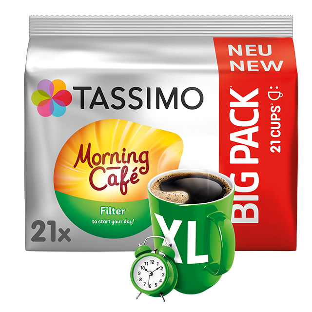 TASSIMO Morning Café Filter XL Kapseln