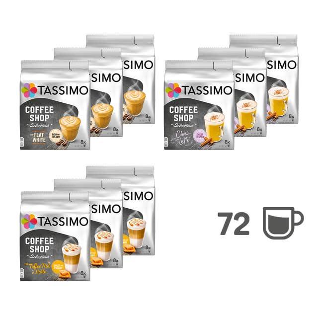 TASSIMO Coffee Shop Favoriten - 9 Packungen