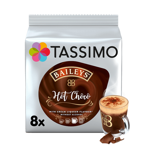 TASSIMO Baileys Hot Chocolate pods