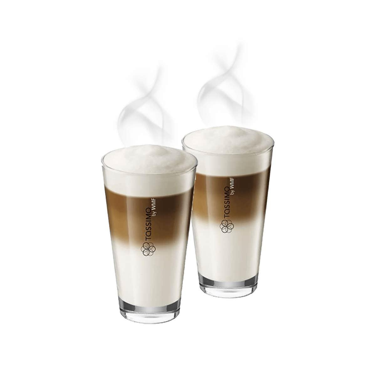TASSIMO Verres Latte Macchiato by WMF, boîte de 2