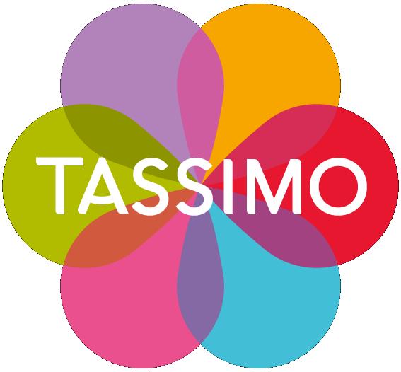 TASSIMO Happy - rojo & blanco cafetera