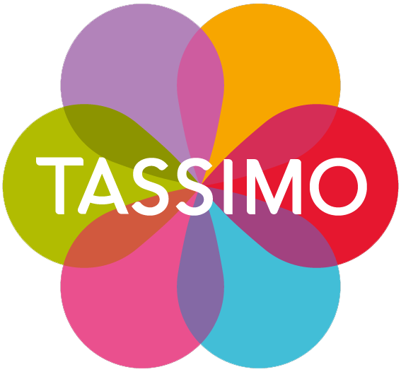TASSIMO by WMF Latte Macchiato Glasses, pack of 2