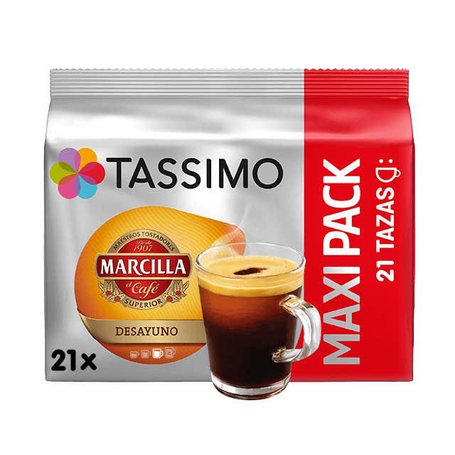 TASSIMO Marcilla Desayuno capsulas