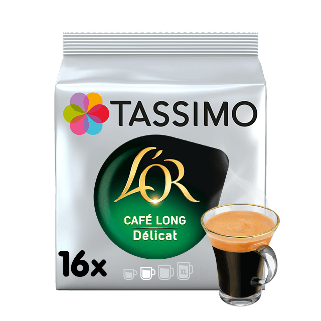 TASSIMO L'OR Long Délicat capsulas