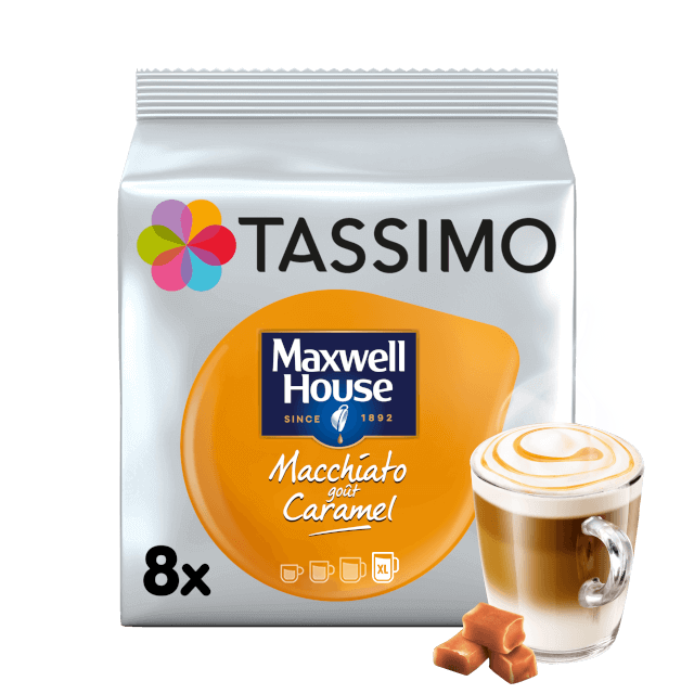 TASSIMO Maxwell House Macchiato Caramel dosettes