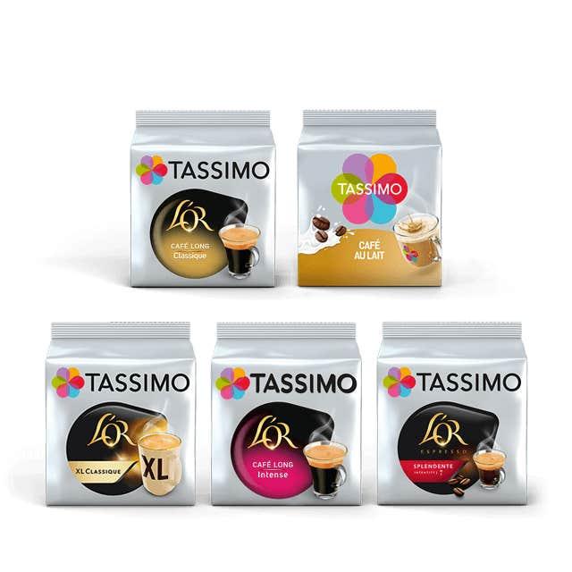 TASSIMO Pack TASSIMO Cafés Plaisirs
