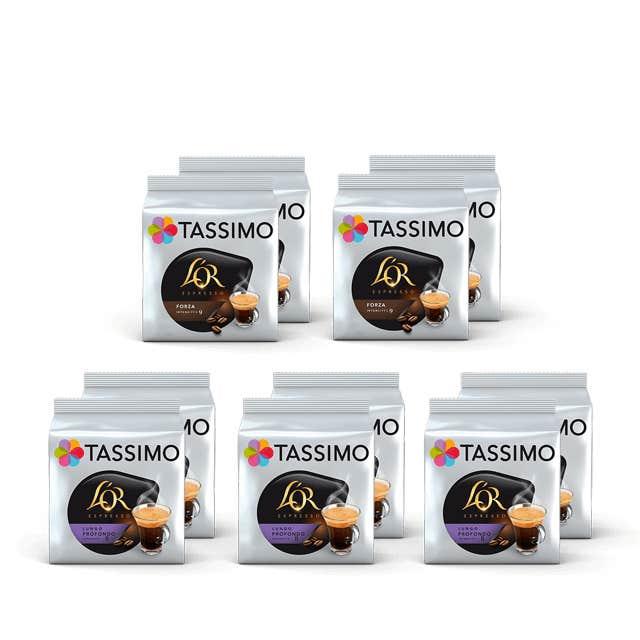 TASSIMO 100% Café negro