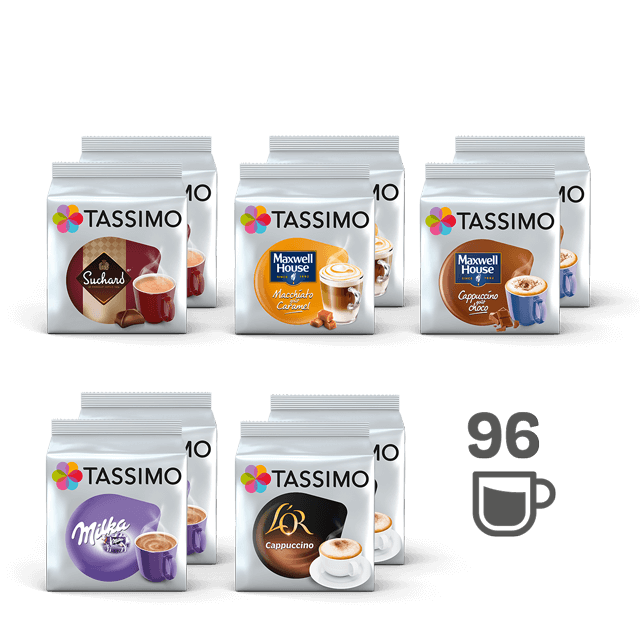 TASSIMO Assortiment 100% Gourmand - 10 paquets