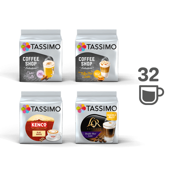 TASSIMO Barista Bundle - 4 packs