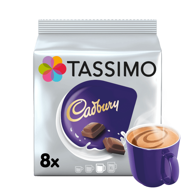 TASSIMO Cadbury Hot Chocolate dosettes