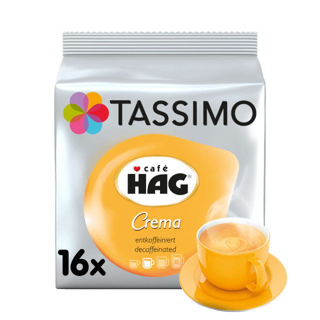 TASSIMO Café Hag Decaff Kapseln