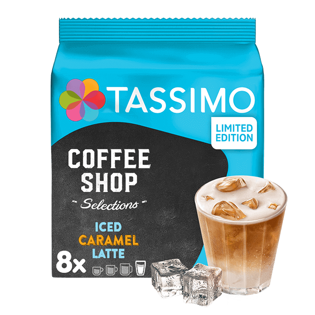 TASSIMO Iced Caramel Latte capsulas