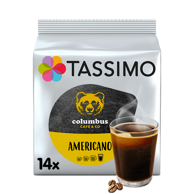 TASSIMO Columbus Americano dosettes