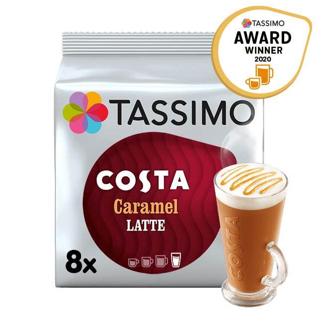 TASSIMO Costa Caramel Latte pods