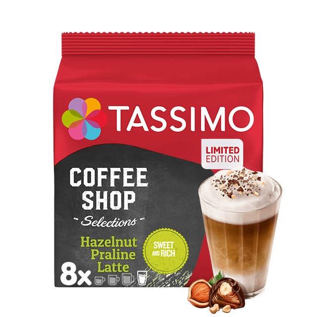 TASSIMO Hazelnut Praline Latte Kapseln