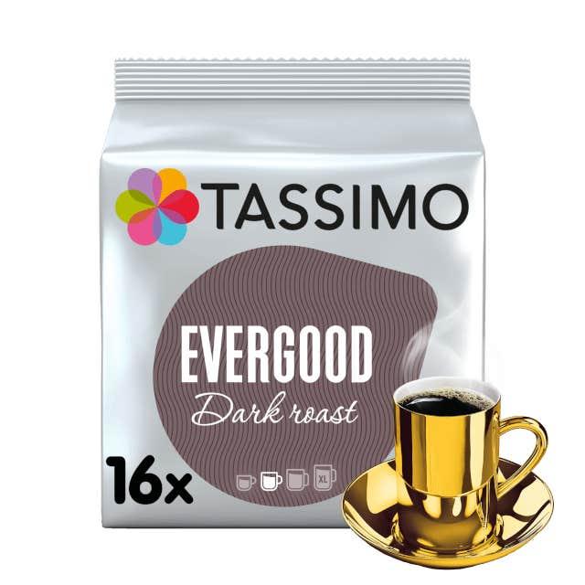 TASSIMO Evergood Darkroast Kapseln