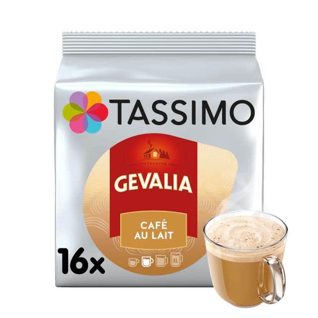 TASSIMO Gevalia Café Au Lait pods