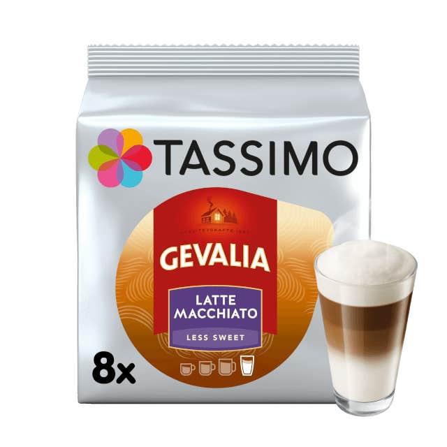 TASSIMO Gevalia Latte Macchiato Less Sweet Kapseln