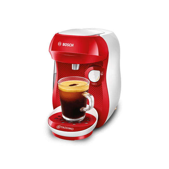 TASSIMO Happy - red & white coffee machine