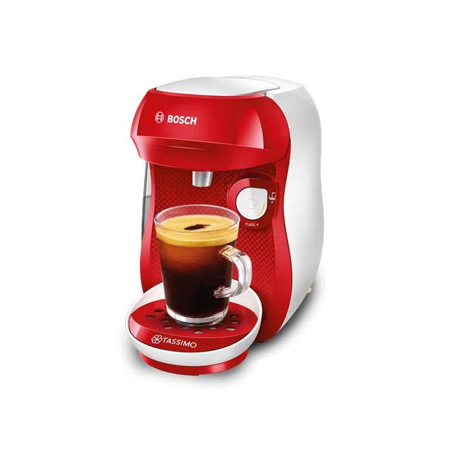 TASSIMO Happy - red & white coffee machine