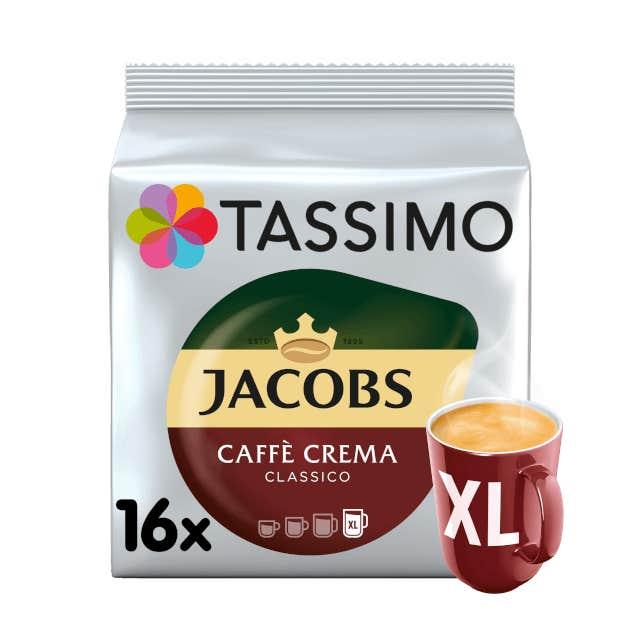 TASSIMO Jacobs Caffè Crema Classico XL pods