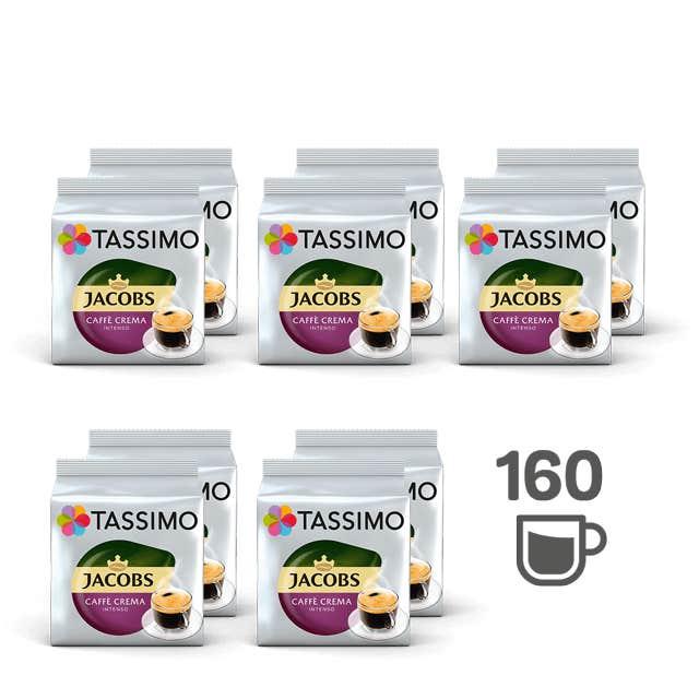 TASSIMO Jacobs Caffè Crema Intenso - 10 Kaffeepackungen