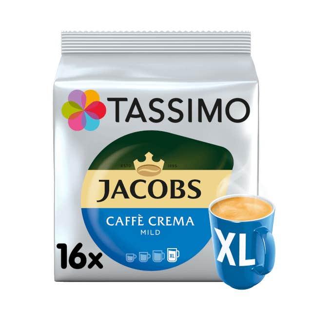 TASSIMO Jacobs Caffè Crema Mild XL pods