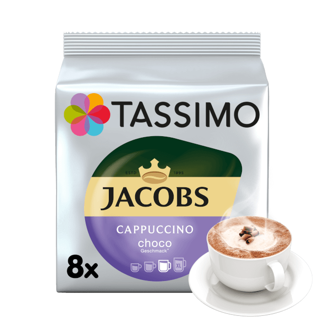 TASSIMO Jacobs Cappuccino Choco pods