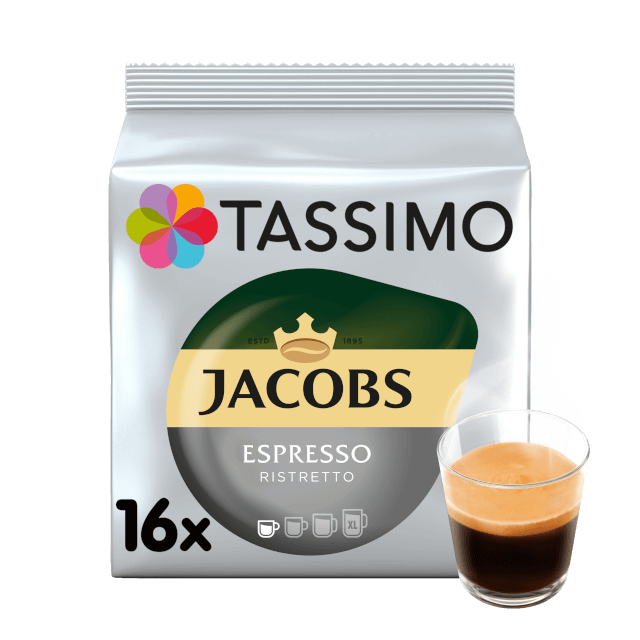 TASSIMO Jacobs Espresso Ristretto pods