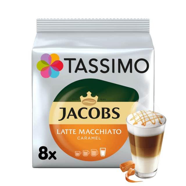 TASSIMO Jacobs Latte Macchiato Caramel pods