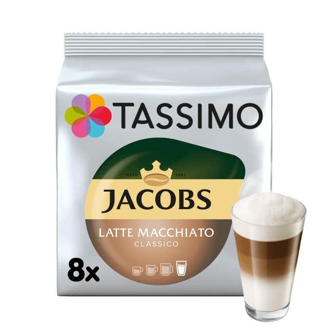 TASSIMO Jacobs Latte Macchiato pods
