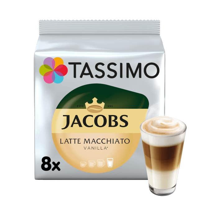 TASSIMO Jacobs Latte Macchiato Vanilla pods