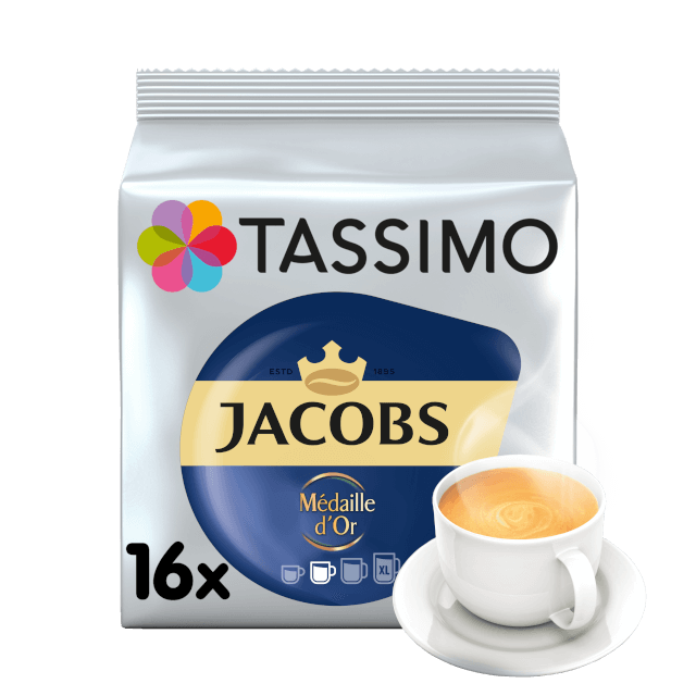 TASSIMO Jacobs Medaille D'Or pods