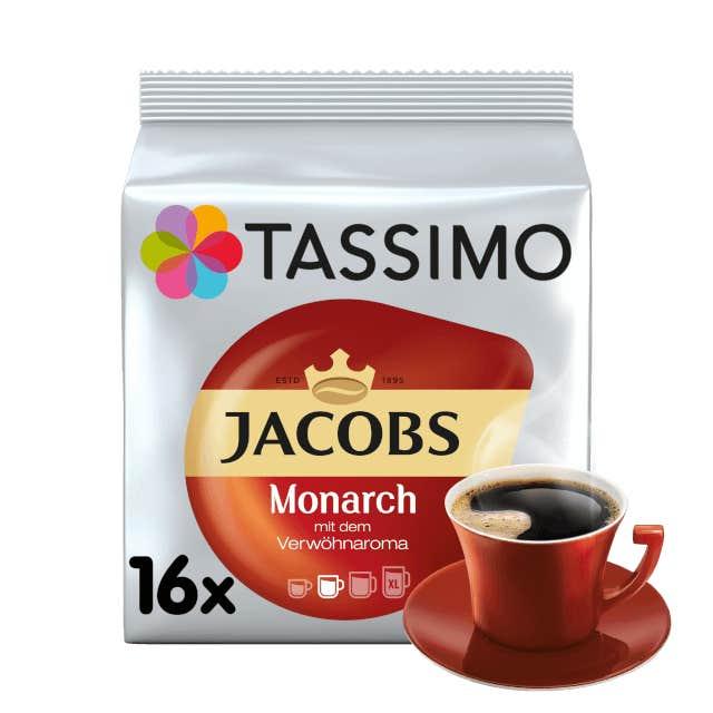TASSIMO Jacobs Monarch pods