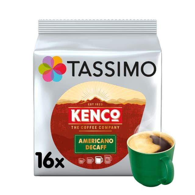 TASSIMO Kenco Decaff Americano pods