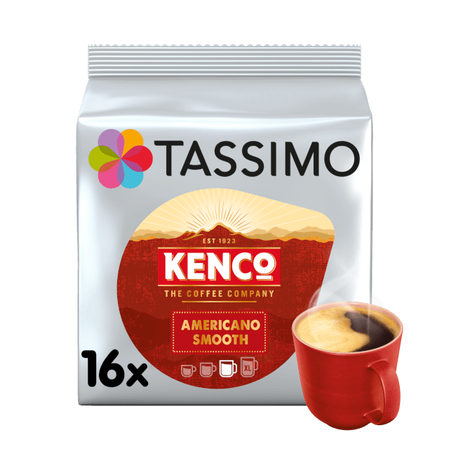 TASSIMO Kenco Americano Smooth pods