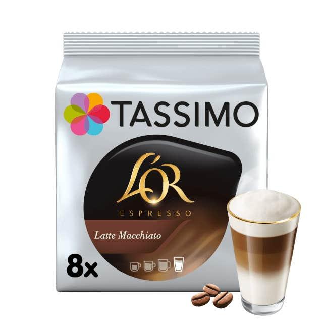 TASSIMO L'OR Latte Macchiato capsulas