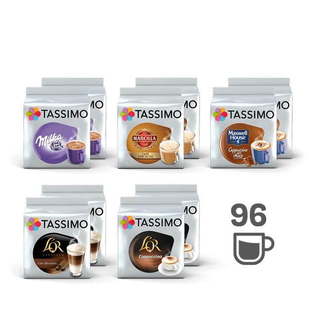 TASSIMO Lote Mejores Caprichos - 10 paquetes de café