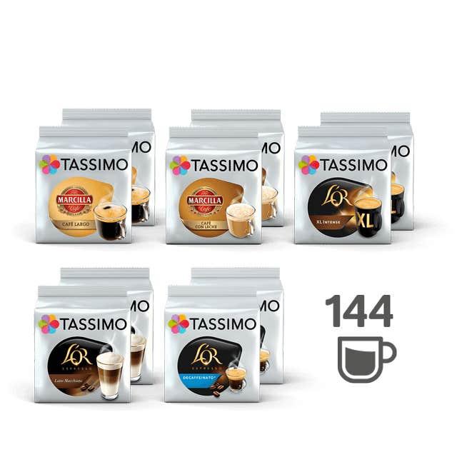 TASSIMO Lote TOP Ventas - 10 paquetes de café