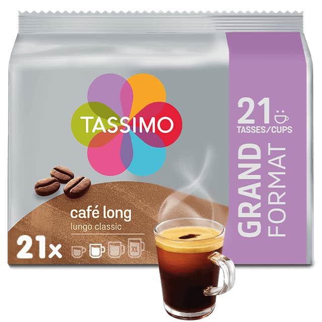 TASSIMO Café Long Classic dosettes