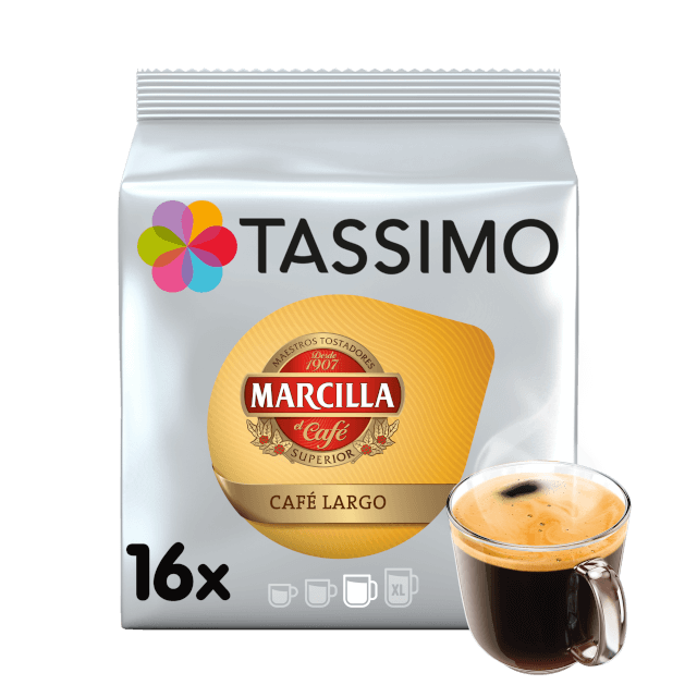 TASSIMO Marcilla Café Largo pods