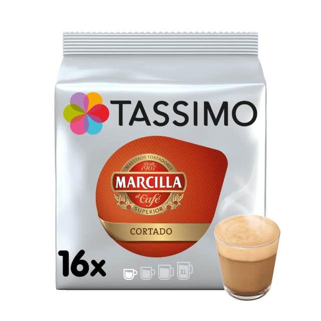 TASSIMO Marcilla Cortado dosettes