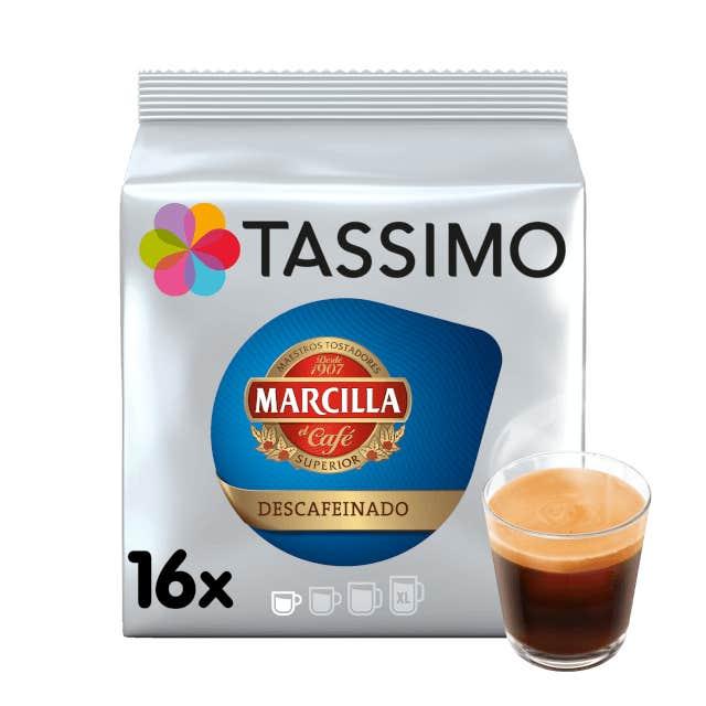 TASSIMO Marcilla Espresso Descafeinado dosettes