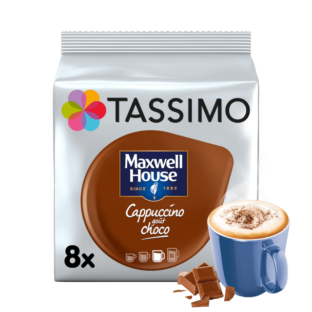 TASSIMO Maxwell House Cappuccino Choco capsulas