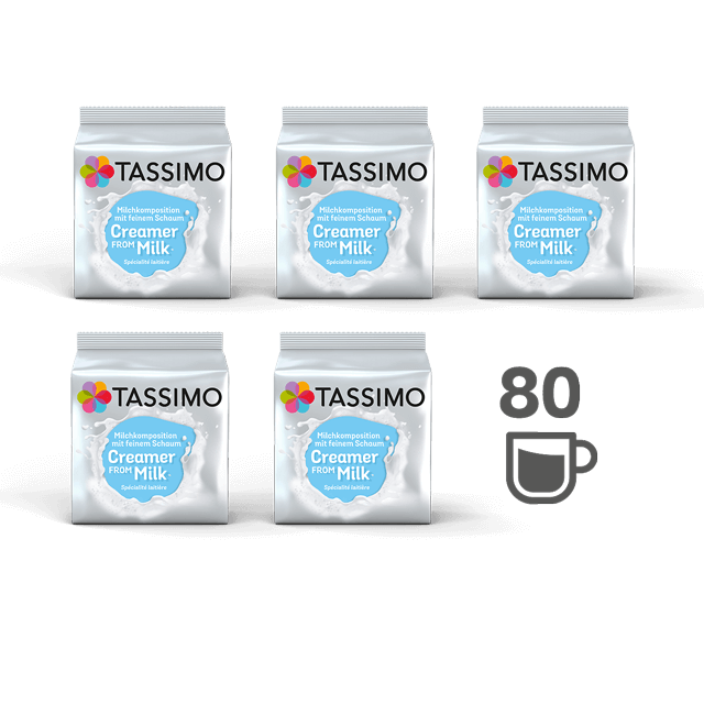TASSIMO Milk Creamer bundle - 5 packs