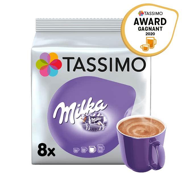 TASSIMO Milka Chocolat Chaud dosettes