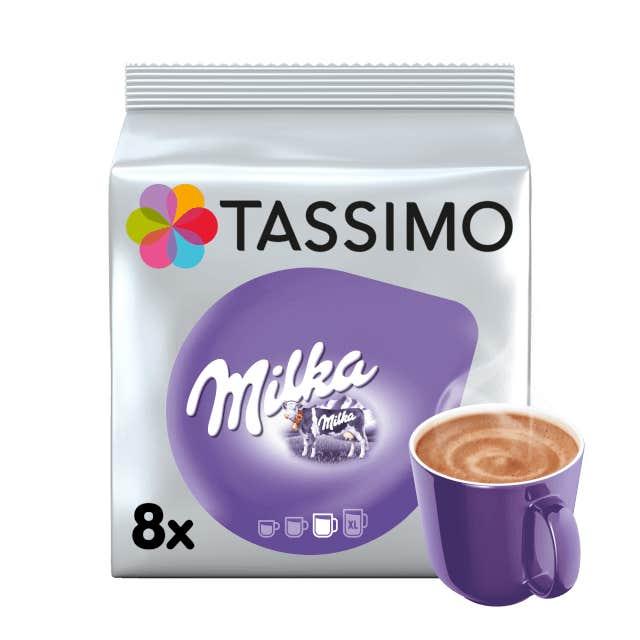 TASSIMO Milka saveur Chocolat dosettes