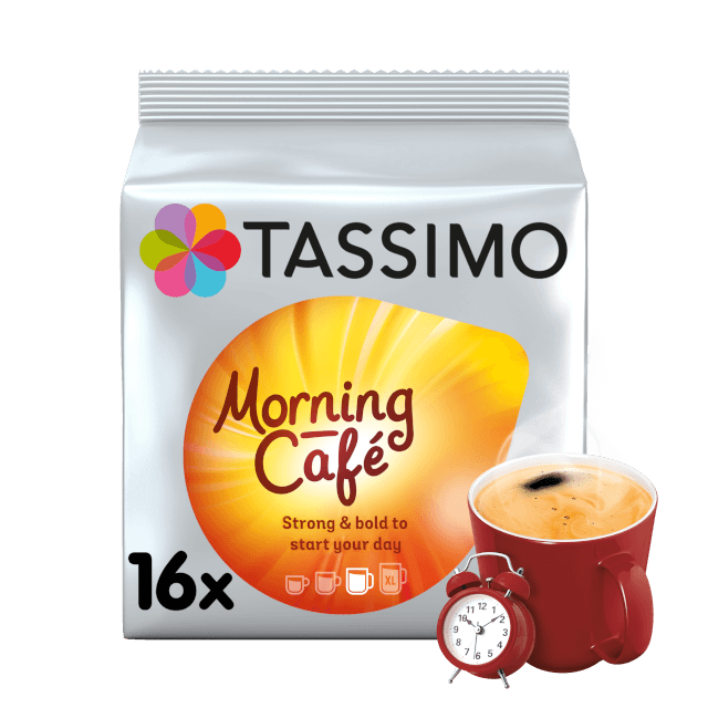 TASSIMO Morning Cafe pods